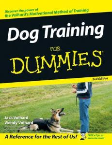 Picture of Dog Training for Dummies (2nd Ed)