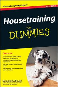 Picture of Housetraining for Dummies (2nd Ed)