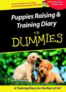 Picture of Puppies Raising and Training Diary for Dummies