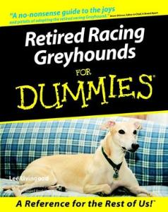 Picture of Retired Racing Greyhounds for Dummies
