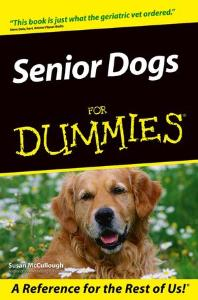 Picture of Senior Dogs for Dummies