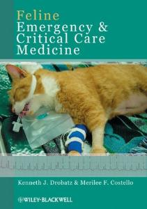 Picture of Feline Emergency and Critical Care Medicine