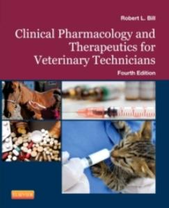 Picture of Clinical Pharmacology and Therapeutics for the Veterinary Technician (4th Edition)