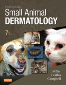 Picture of Muller and Kirk's Small Animal Dermatology (7th Ed)