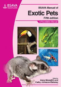 Picture of BSAVA Manual of Exotic Pets